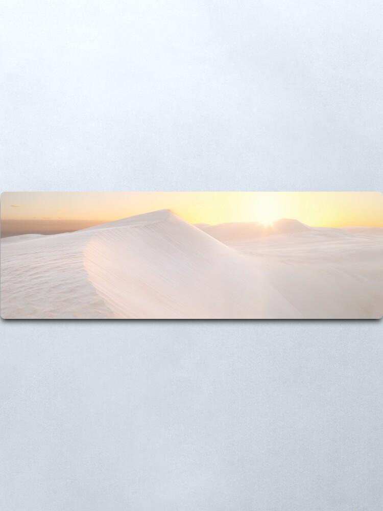 Alternate view of Gunyah Beach Sand Dunes, Coffin Bay, South Australia Metal Print