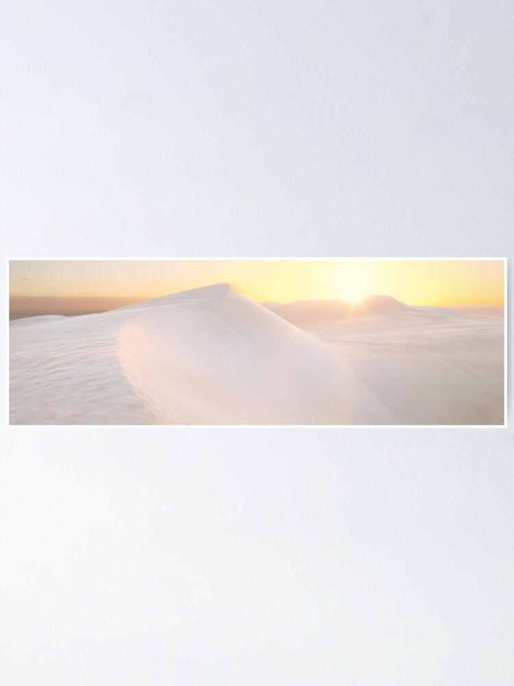 Alternate view of Gunyah Beach Sand Dunes, Coffin Bay, South Australia Poster