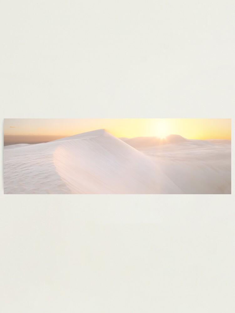 Alternate view of Gunyah Beach Sand Dunes, Coffin Bay, South Australia Photographic Print