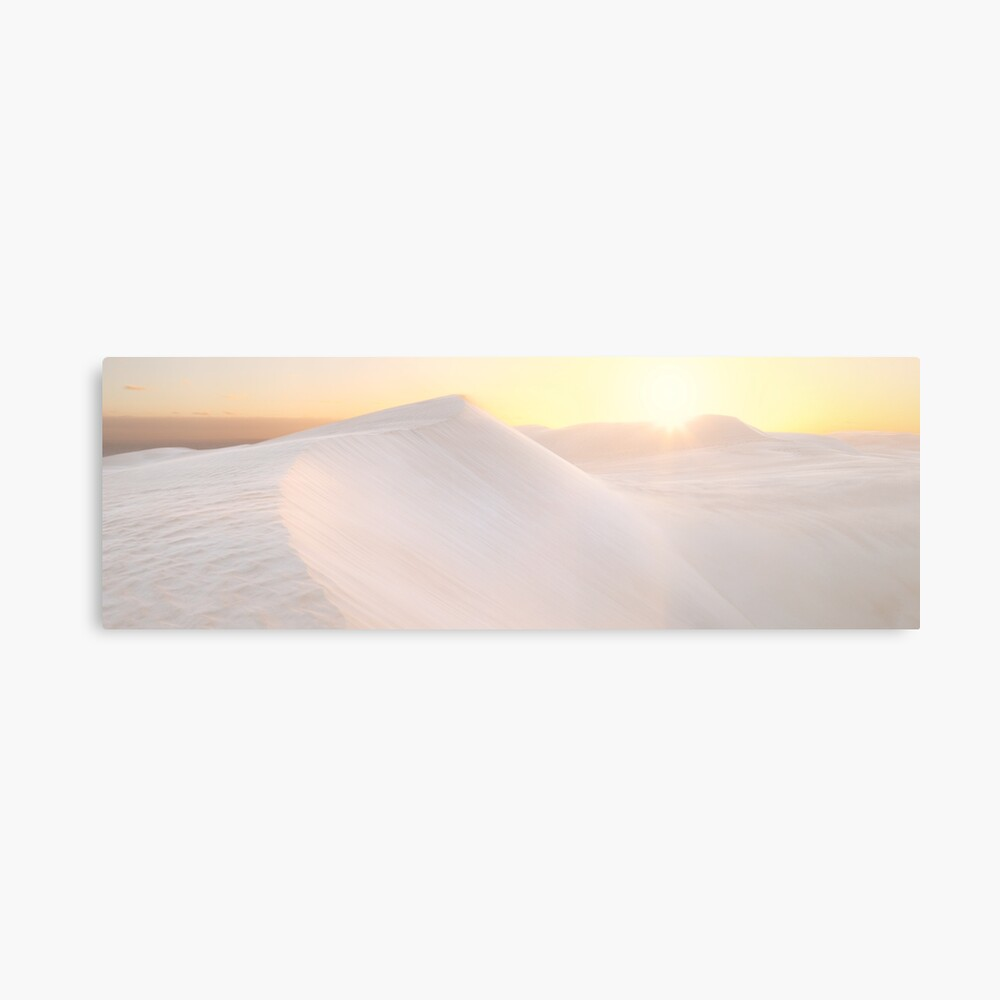 Gunyah Beach Sand Dunes, Coffin Bay, South Australia Metal Print
