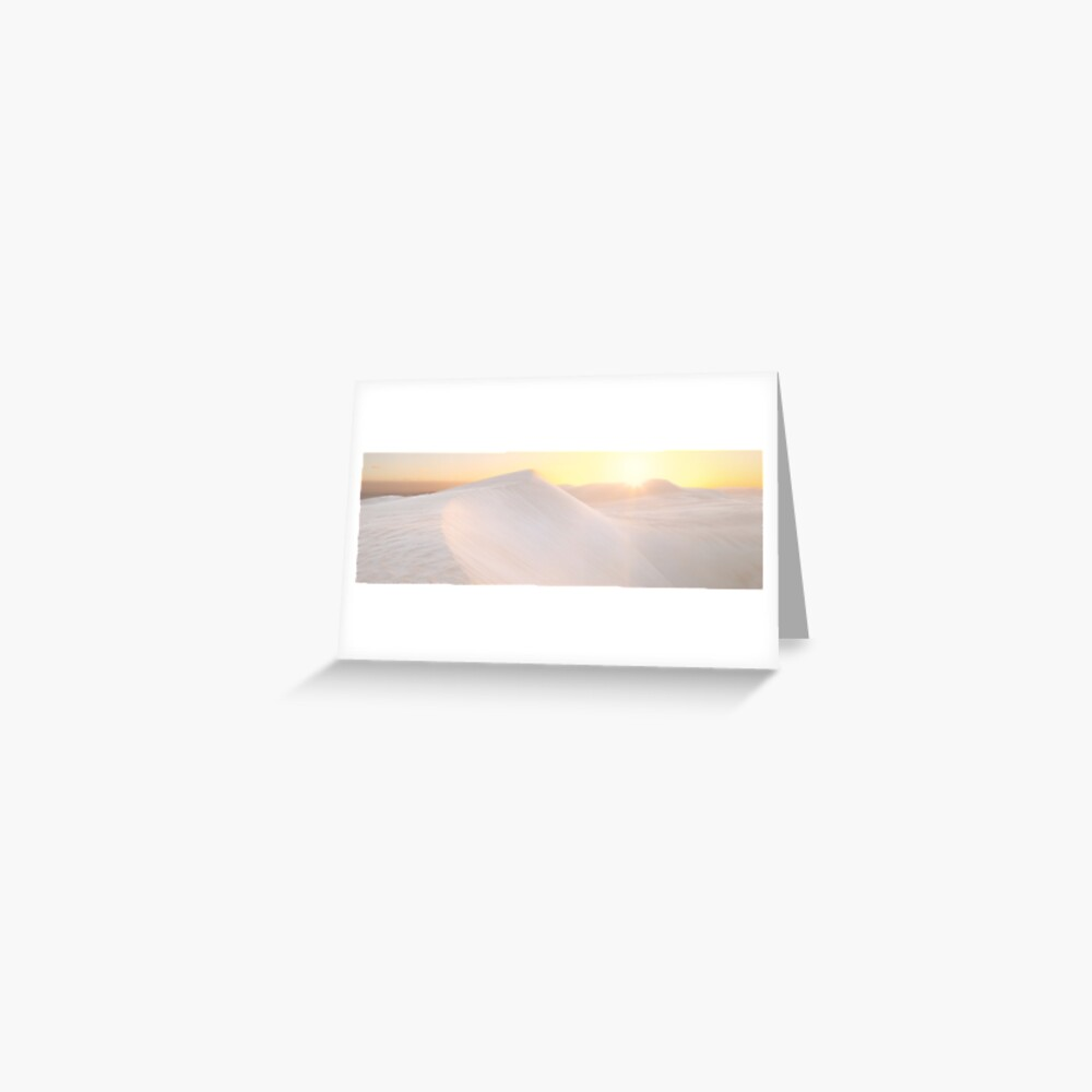 Gunyah Beach Sand Dunes, Coffin Bay, South Australia Greeting Card