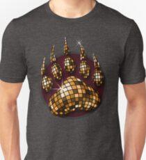 Disco-Ball-Bärenklauen-Taschen-Tasche Slim Fit T-Shirt