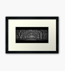...the daily commute... Framed Print