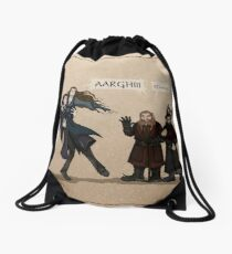 First Encounter Drawstring Bag