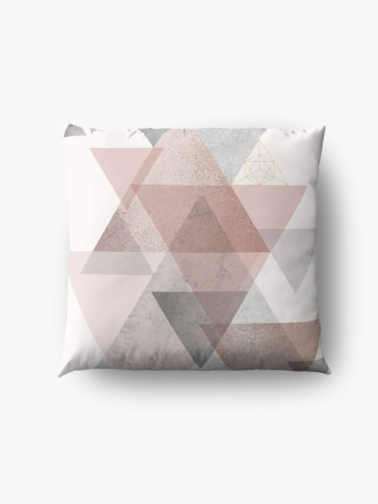 Alternate view of Glam Geometric Floor Pillow