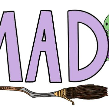 Ms. A's MAD sticker by andilynnf