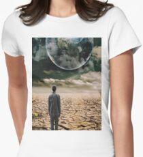 EARTH 2 Pop Art Women's Fitted T-Shirt