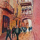 Barcelona Gothic by JennyArmitage