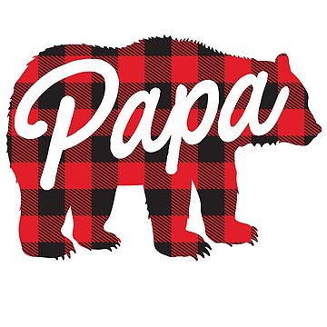 Papa Bear Lumberjack by LemonRindDesign