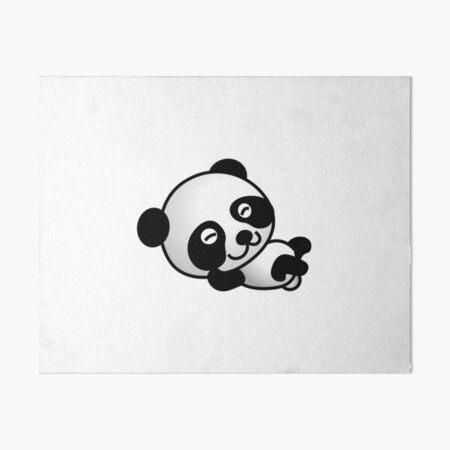 Cartoon Panda Wallpapers Wall Art Redbubble