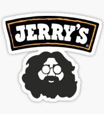 Ben and Jerry Garcia Sticker
