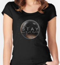 STAY Women's Fitted Scoop T-Shirt