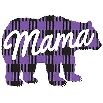 Mama Bear Lumberjack by LemonRindDesign