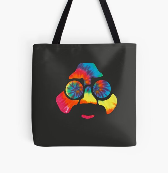 Tie Dye Jerry All Over Print Tote Bag