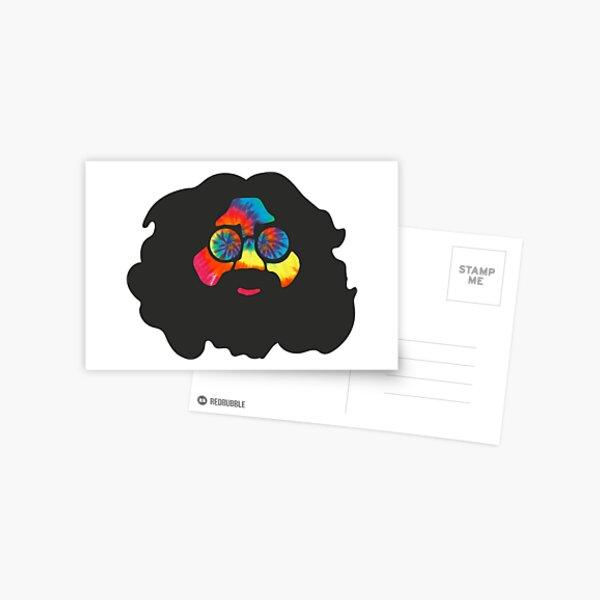 Tie Dye Jerry Postcard