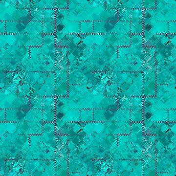 Bauhaus Jade Green by Missman