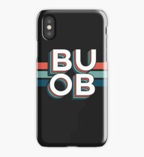 Retro BUOB iPhone Case