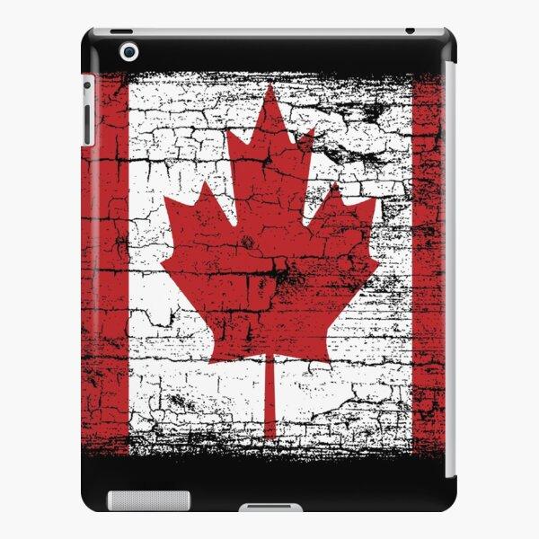 Vintage Canada Flag T Shirt design iPad Snap Case