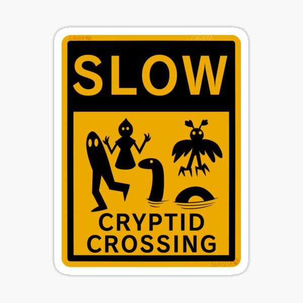 Cryptid Crossing Sticker
