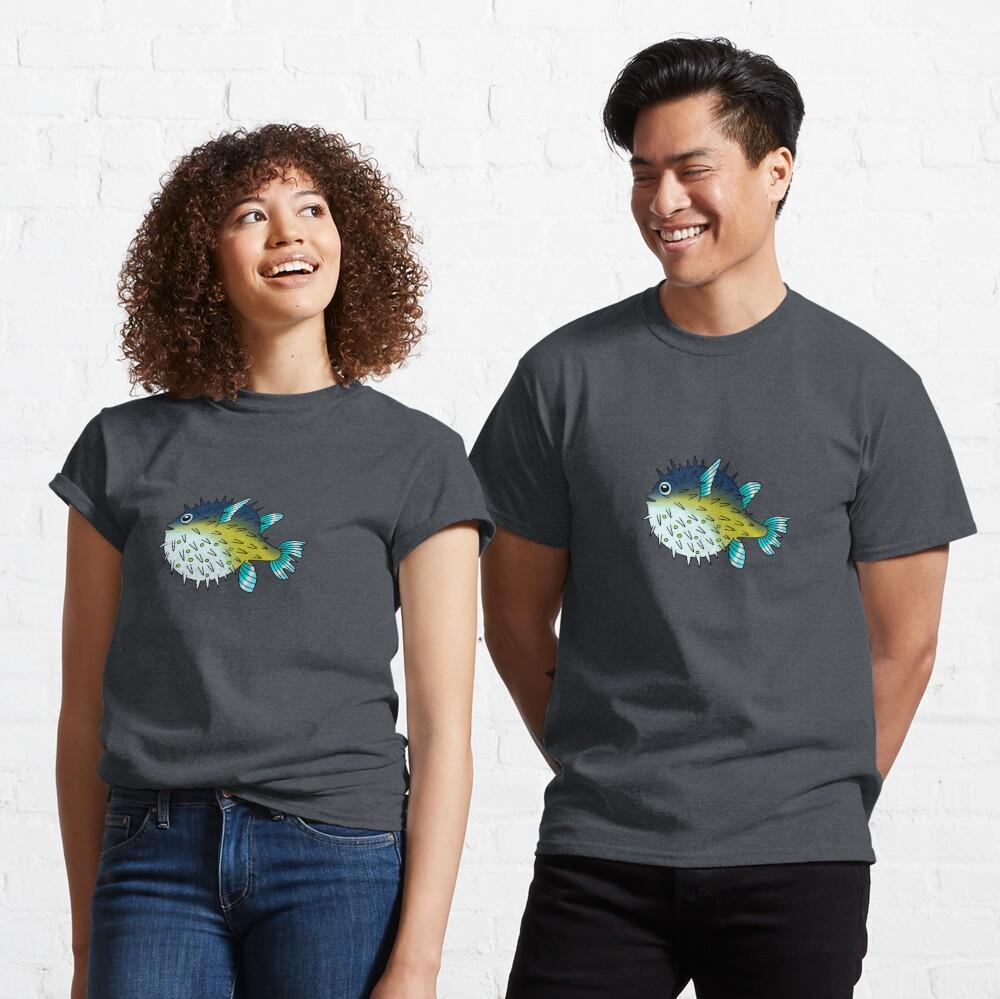 Deep Blue Sea Pufferfish Classic T-Shirt