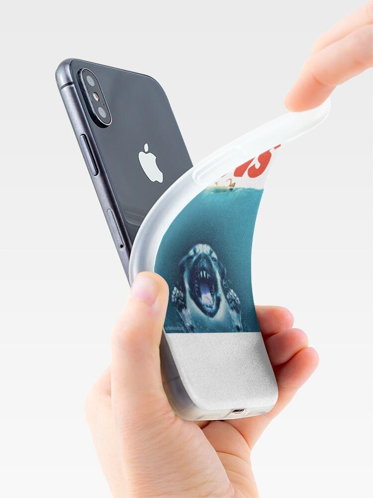 Alternative Ansicht von Pfoten iPhone-Hüllen & Cover