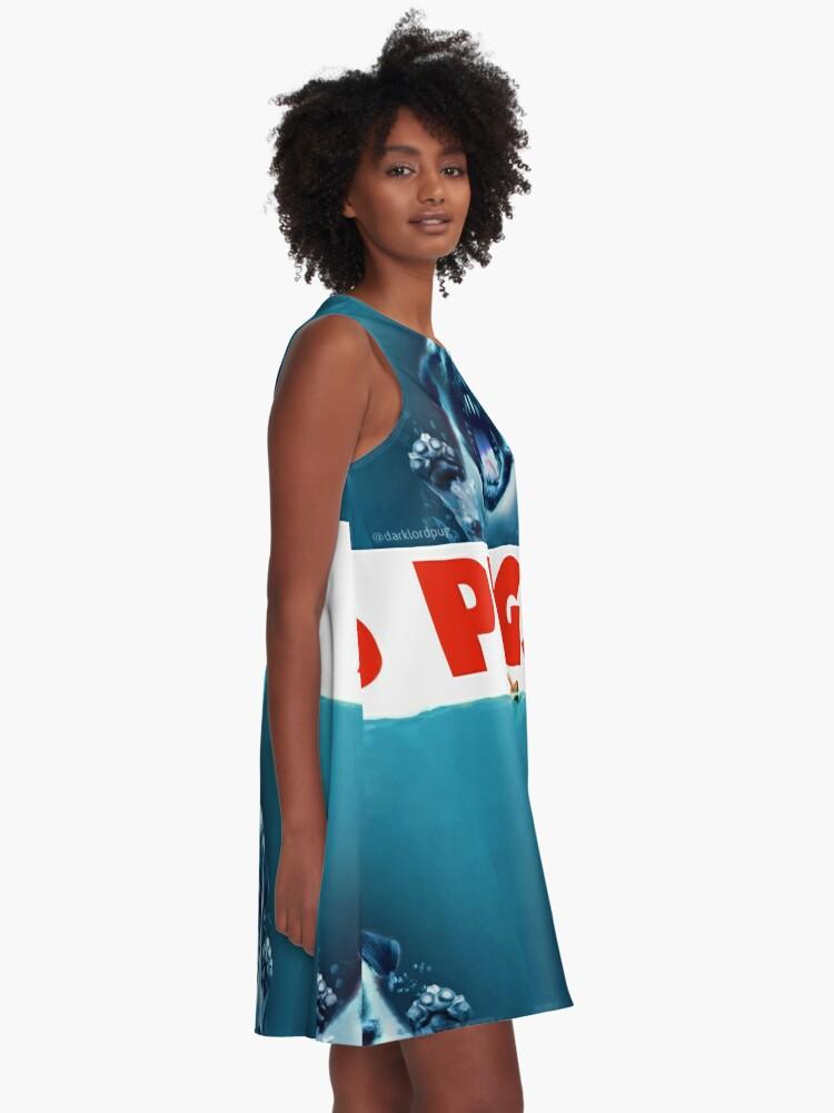 Alternative Ansicht von Pfoten A-Linien Kleid