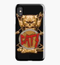 slayer cat iPhone Case