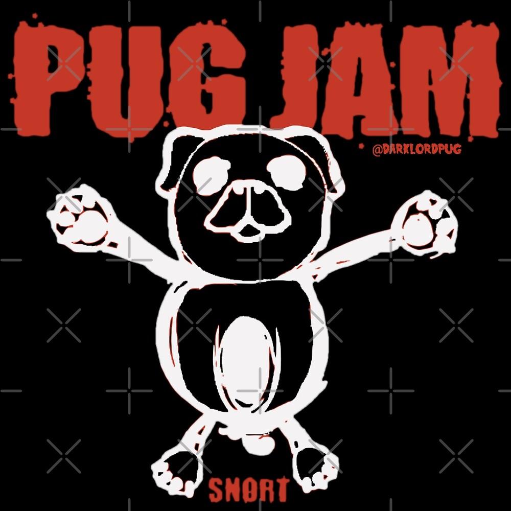 PUG JAM by darklordpug