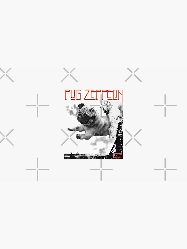 Mops Zeppelin von darklordpug