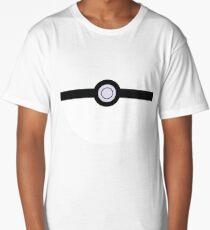 Pokeball Minimalist Long T-Shirt