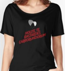 The Handmaid's Tale Quote Nolite Te Bastardes Carborundorum Women's Relaxed Fit T-Shirt