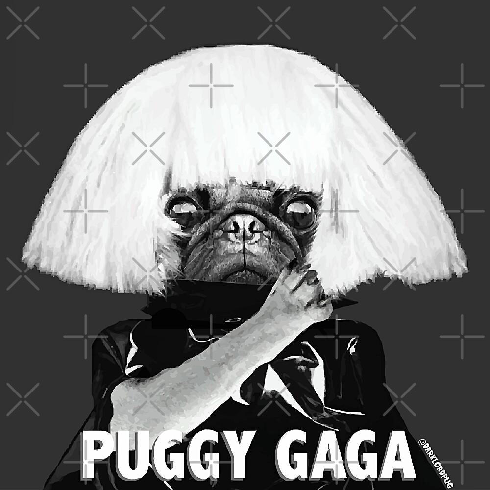 PUGGY GAGA by darklordpug