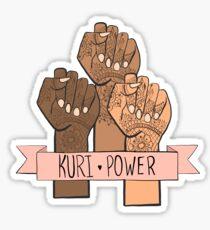 Kuri Power Sticker