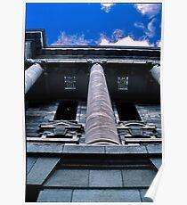 old building. wellington, aotearoa Poster
