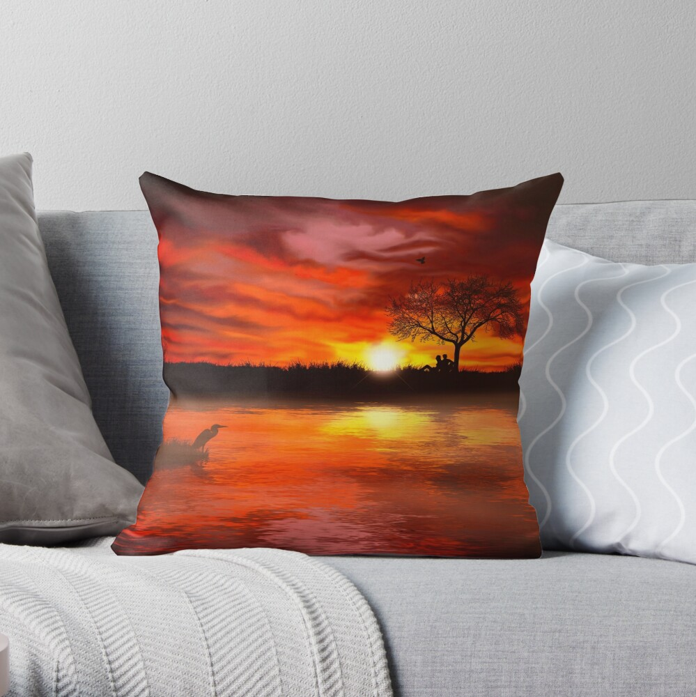 Time to Contemplate Throw Pillow