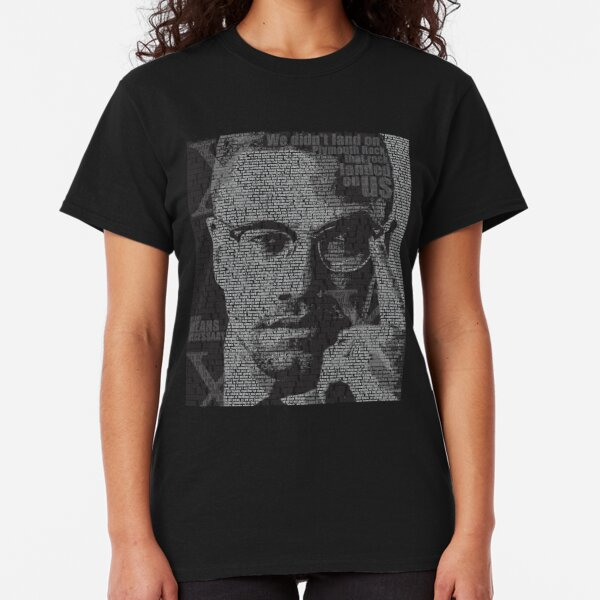 Malcolm X Classic T-Shirt