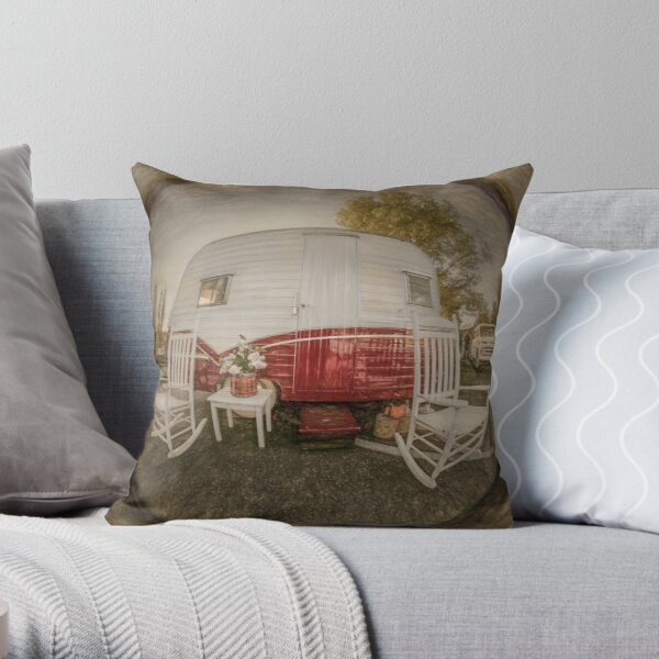 Off Our Rockers Throw Pillow