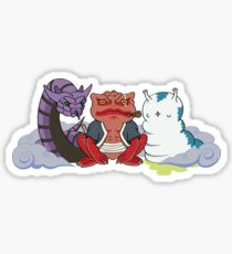 The Three Sannin Sticker