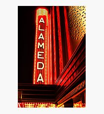 Alameda Theatre Photographic Print