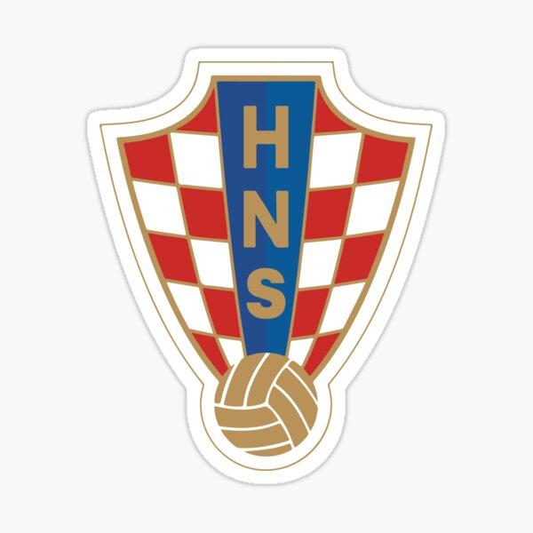 Croatia National Football Team Sticker