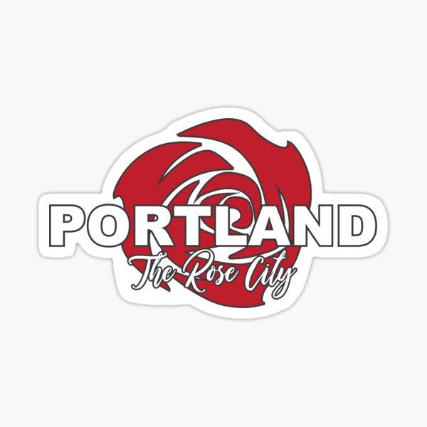 The Rose City Sticker
