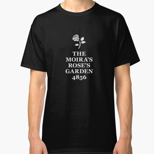 The Moira's Rose's Garden - white type Classic T-Shirt