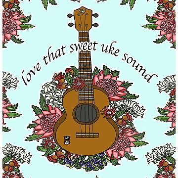 love that sweet uke sound by genevievem