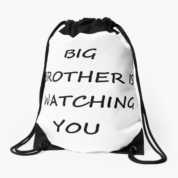Big Brother is Watching You #BigBrother #WatchingYou Drawstring Bag
