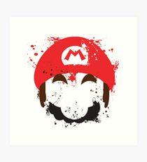 Lámina artística Super Mario Splash