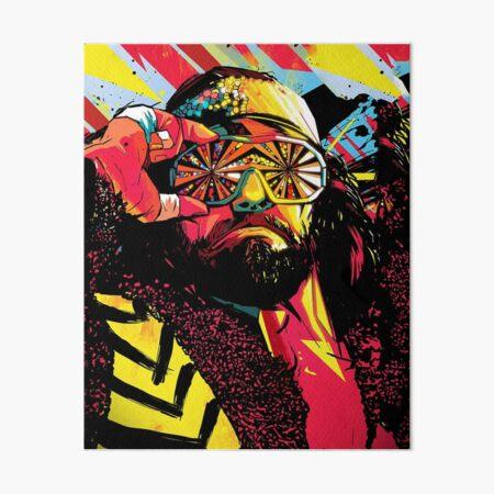 machoman!! Art Board Print