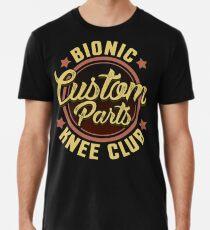 Bionic Knie-Club-Gewohnheitsteile lustiges Knie-Chirurgie-T-Shirt Premium T-Shirt
