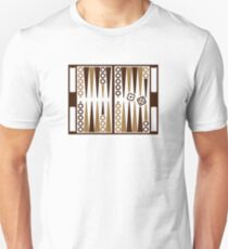Backgammon board Unisex T-Shirt