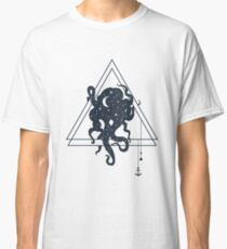 Octopus. Geometric Style Classic T-Shirt