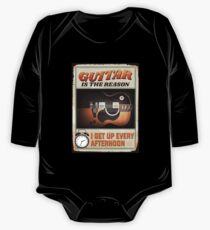Guitar Is The Reason I Get Up Every Afternoon 2018 One Piece - Long Sleeve
